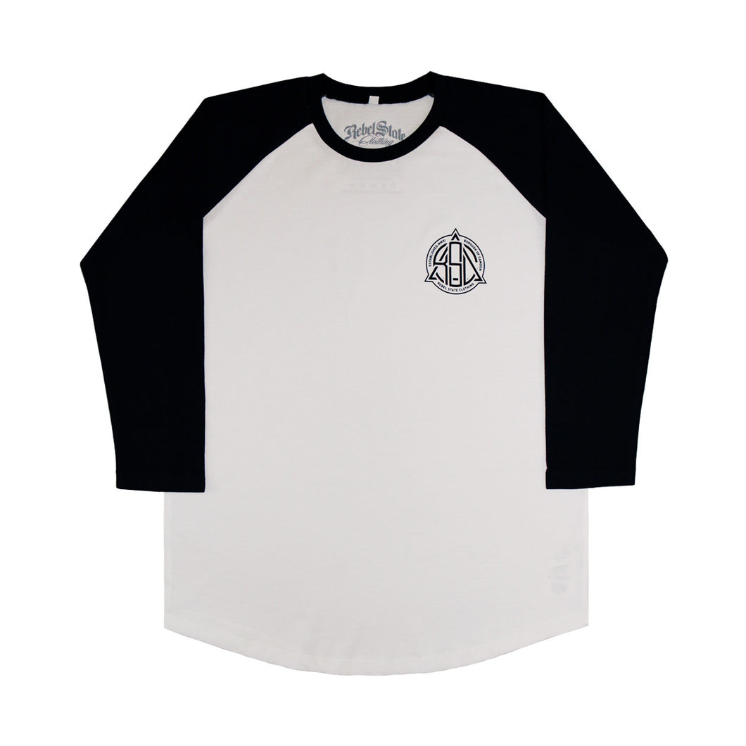 Borough Raglan Jersey Dark Navy