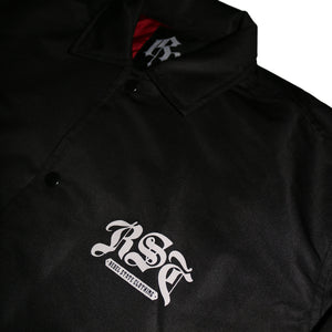 Crew Coach Jacket Black