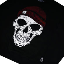New Skull Beanie Sweat Black
