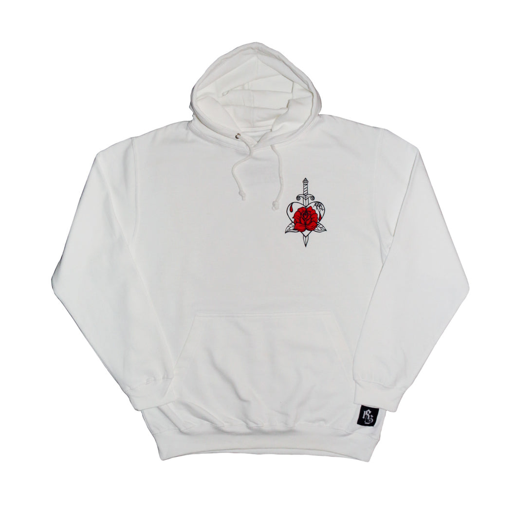 Rose Dagger Hood White