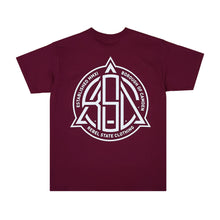 Borough T-Shirt Burgundy