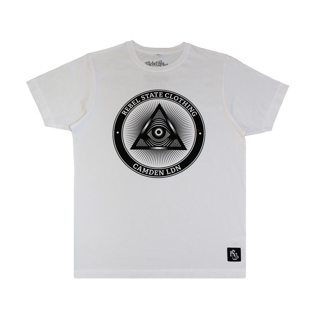 All Seeing T-Shirt White