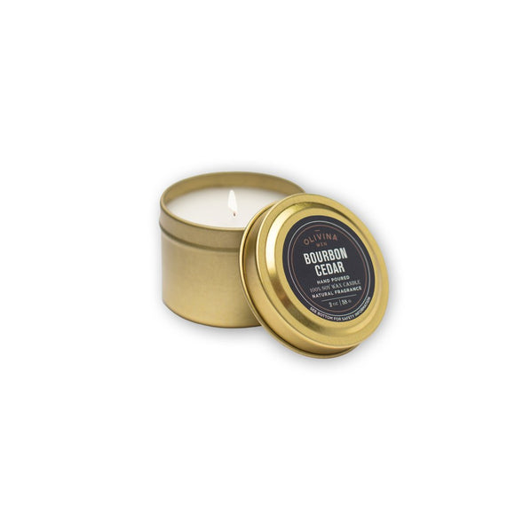 Olivina Men Travel Candle
