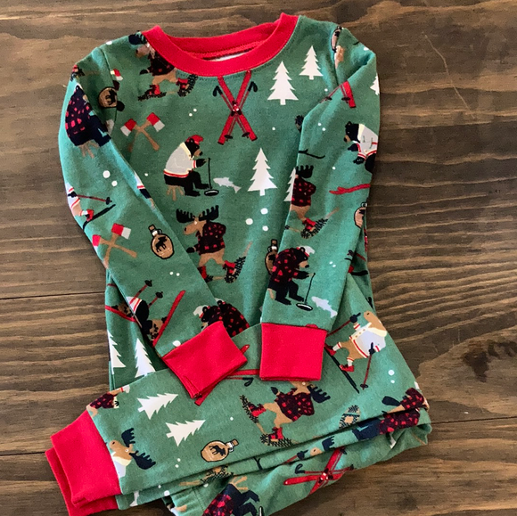LBH Kids PJ Set - Northern Winter