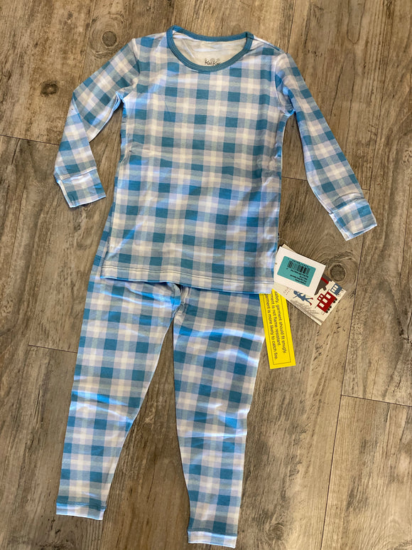 Kickee Pants Print Long Sleeve Pajama Set - 8t