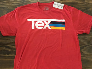 Tex Stripes in Red