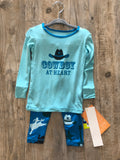 Kickee Pants Long Sleeve Piece Print Pajama Set - 5t