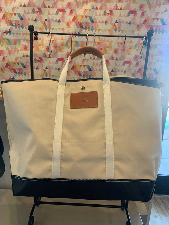 Avery Canvas Tote (Stock)