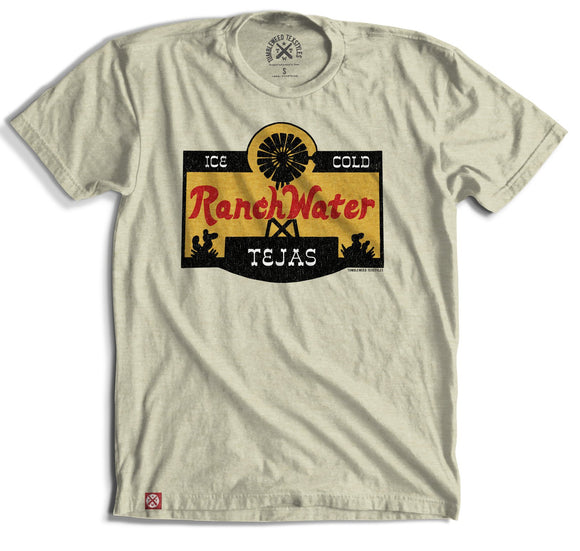 Ranch Water Label T-Shirt (Natural)