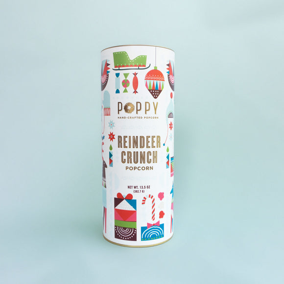 Poppy Popcorn Holiday Cylinder