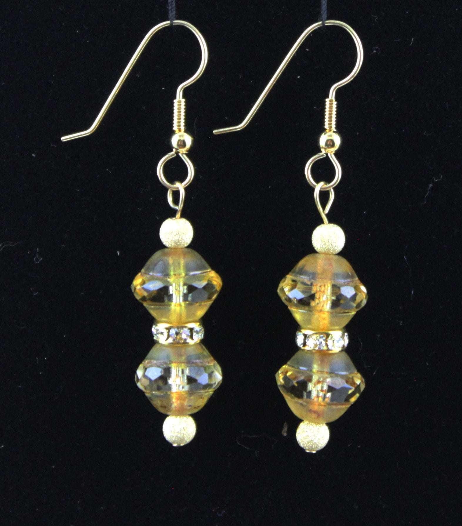 14K Gold-Filled with Swarovski Crystal Earrings