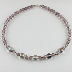 "Simply Silver and Pastel 19"" Necklace"