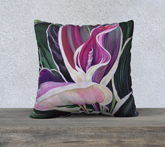 "Vibrancy 22"" by 22"" Pillow Case"