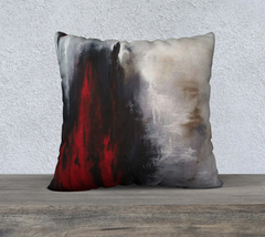 "Winter Song 22"" by 22"" Pillow Case"