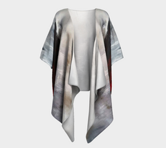 Winter Song Draped Kimono