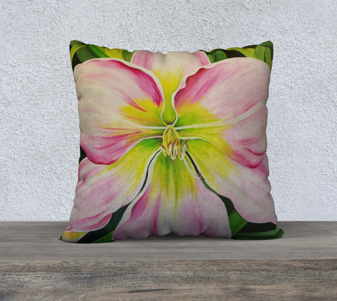 "Sanctuary 22"" by 22"" Pillow Case"