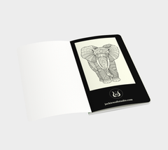Majestic Elephant Small Notebook