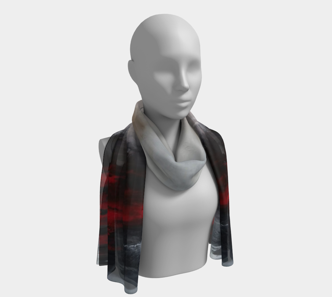 Winter Song Long Scarf