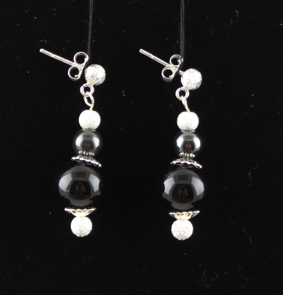 Black & Grey Earrings