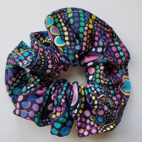 Polka Dot Passion Scrunchie