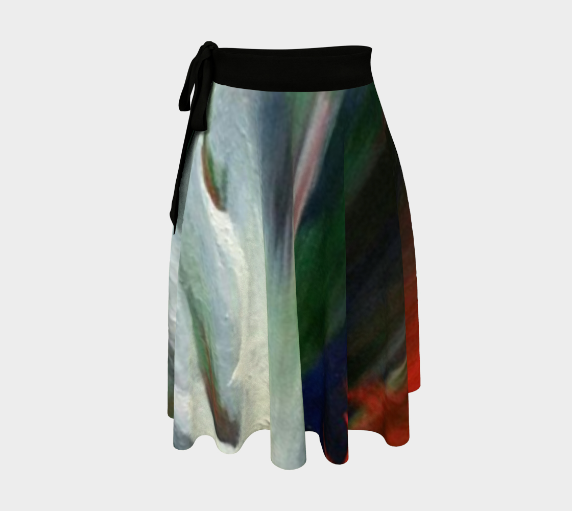 Apparition Wrap Skirt