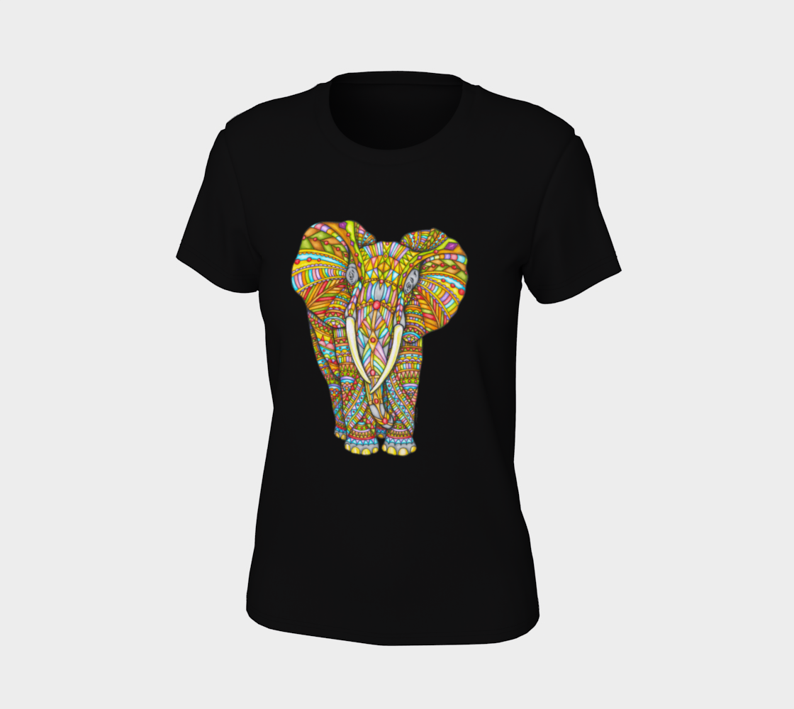 Majestic Elephant Women's Tee
