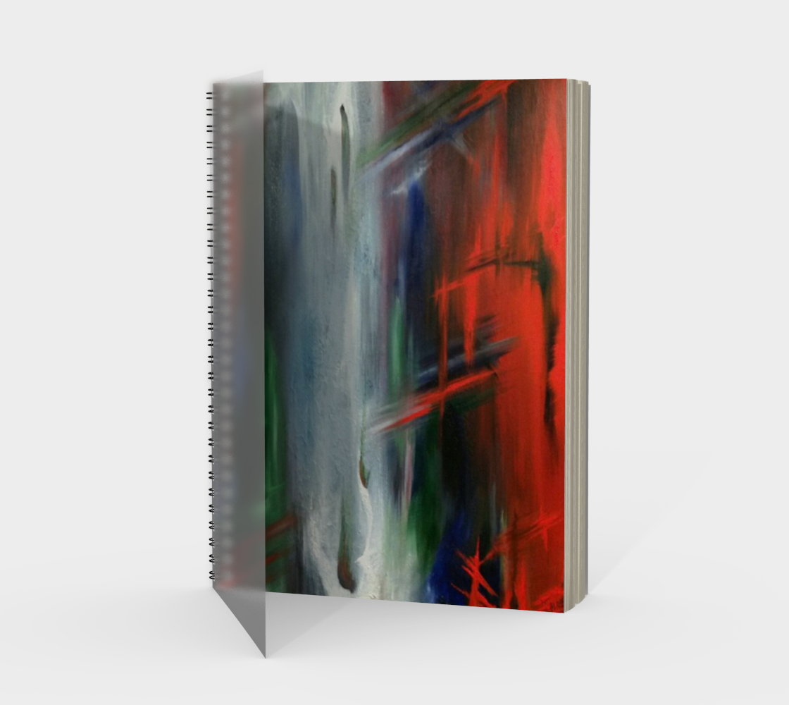 Apparition Spiral Notebook