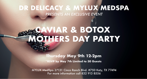 Mother's Day event, Houston event, Caviar Event.