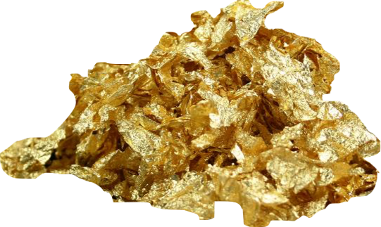 24K Edible Gold Leaf Flakes