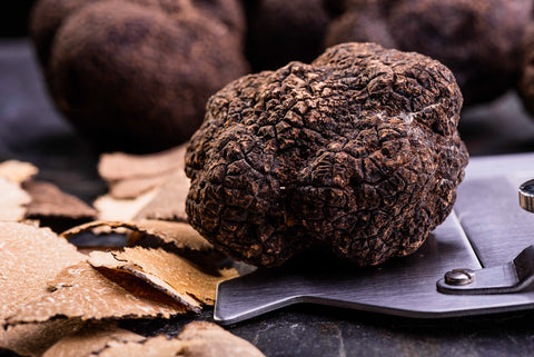 Black Autumn/Burgundy Truffles