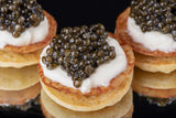 Caviar serving example