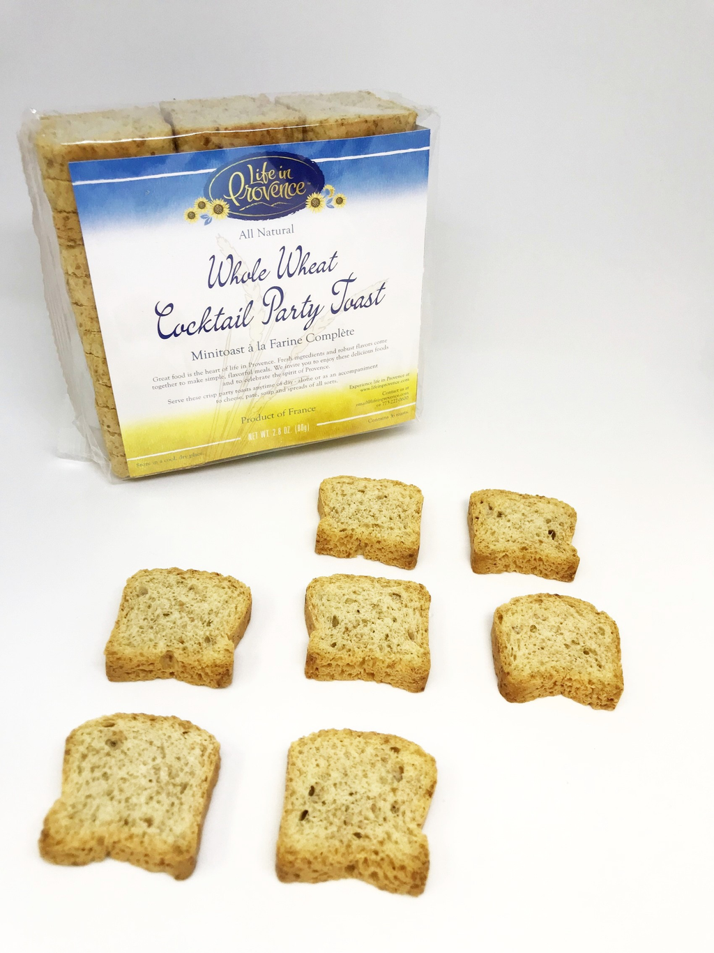 Gourmet Imported Wheat Mini Toasts