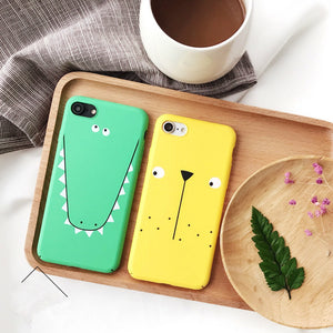 Cute Crocodile and Puppy Dog Cases for iPhone - Squishy Squish