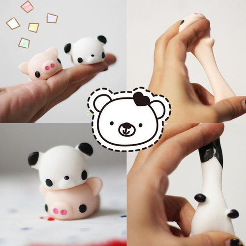 Cute Squishy Panda & Pig - Stress Relief Toy - FREE SHIPPING - Squishy Squish