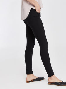Madrid Mid Rise Skinny - Black