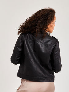 Vegan Leather Hughes Jacket