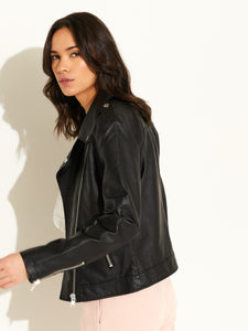 Vegan Leather Jordana Jacket