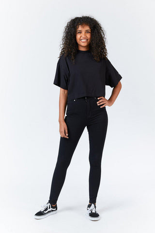 Moxy High Super Skinny - Black