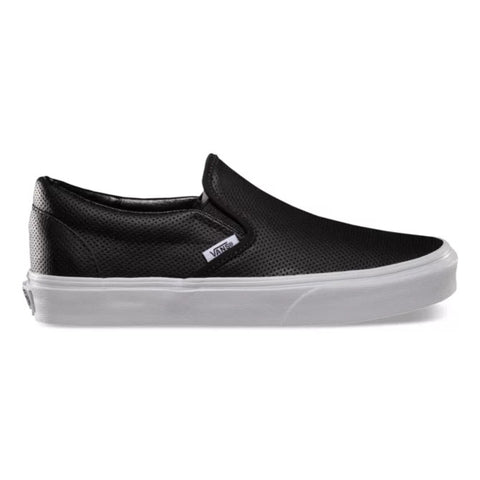Classic Perforated Leather Slip On