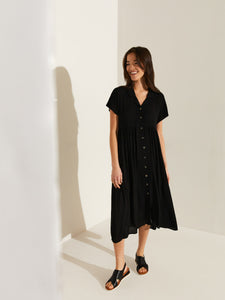 Alyssa Maxi Shift Dress