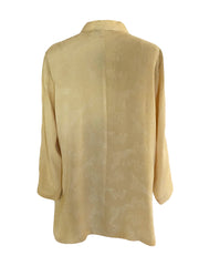 Citron Classic Style Silk Top