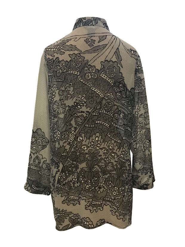 Lace Border Classic Style Tunic