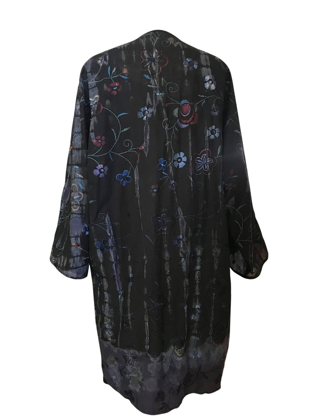 Cotton Embroidered Duster