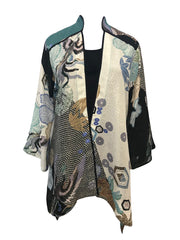 Silk Blend Dynasty Jacket
