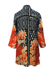 Mums Of Summer Silk Blend Dynasty Jacket