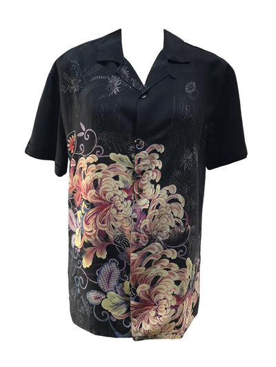 Chrysanthemum Happiness Men's (unisex) Shirt