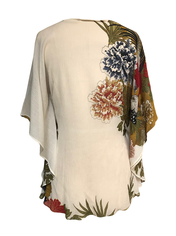 One Size Silk Pullover Coverup
