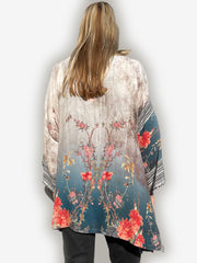 V-neck Pullover Silk Tunic