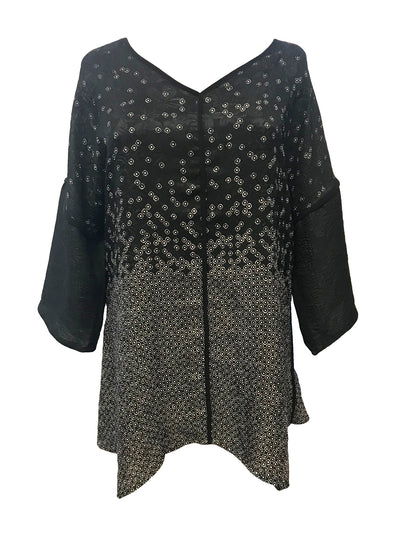 Silk V-Neck Tunic