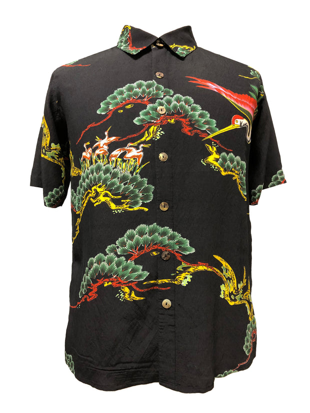 Family of Cranes Men's Shirt - size 0X